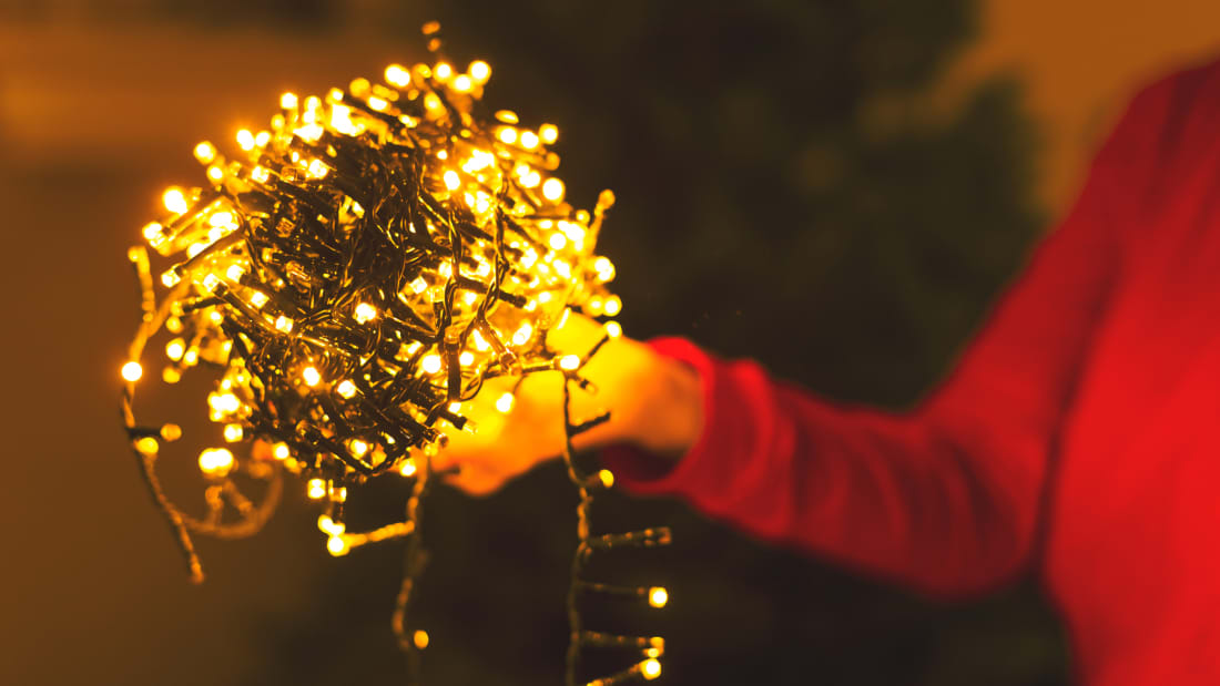 sports shoes 81083 020c7 Why Your Christmas Lights Always Get Tangled, According to ...
