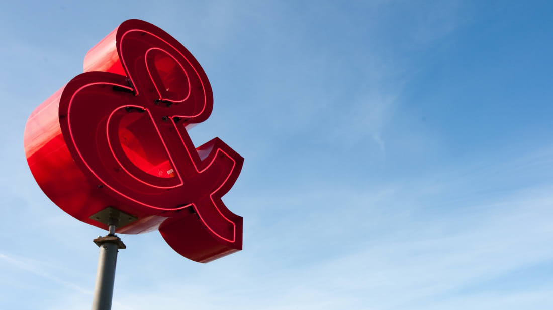 Where Did The Ampersand Symbol Come From? | Mental Floss