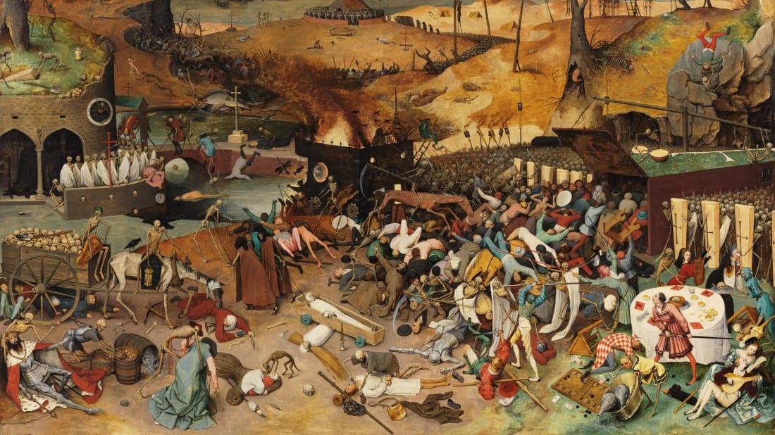 The Triumph of Death by Pieter Bruegel the Elder, circa 1562.