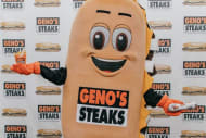 Meet Whizzy: The new mascot at Geno's Steaks in Philadelphia.