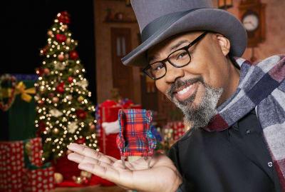 James Monroe Iglehart hosts HGTV's The Biggest Little Christmas Showdown