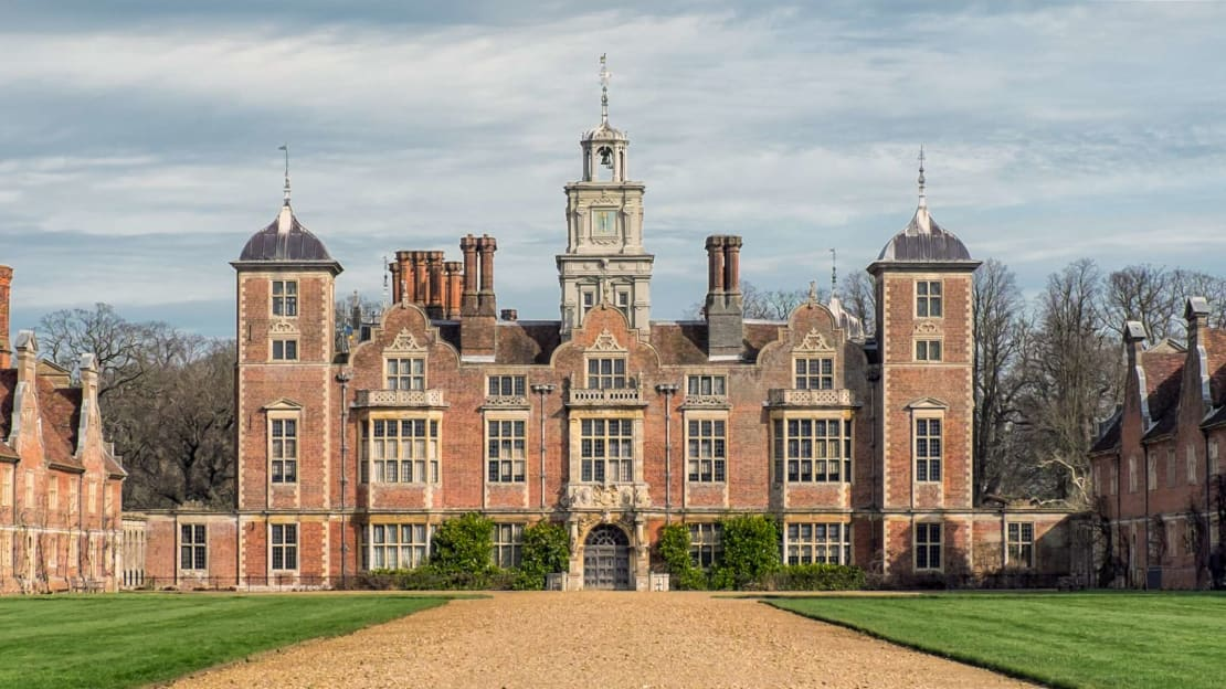 Blickling Hall in Norfolk, England.