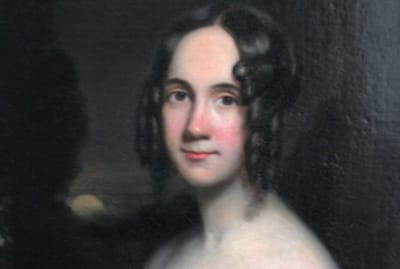 A painting of Sarah Josepha Hale by James Reid Lambdin, circa 1831.