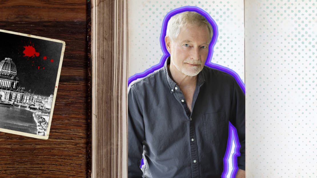 Author Erik Larson may be known for his narrative nonfiction books—but he also loves a good ghost story.