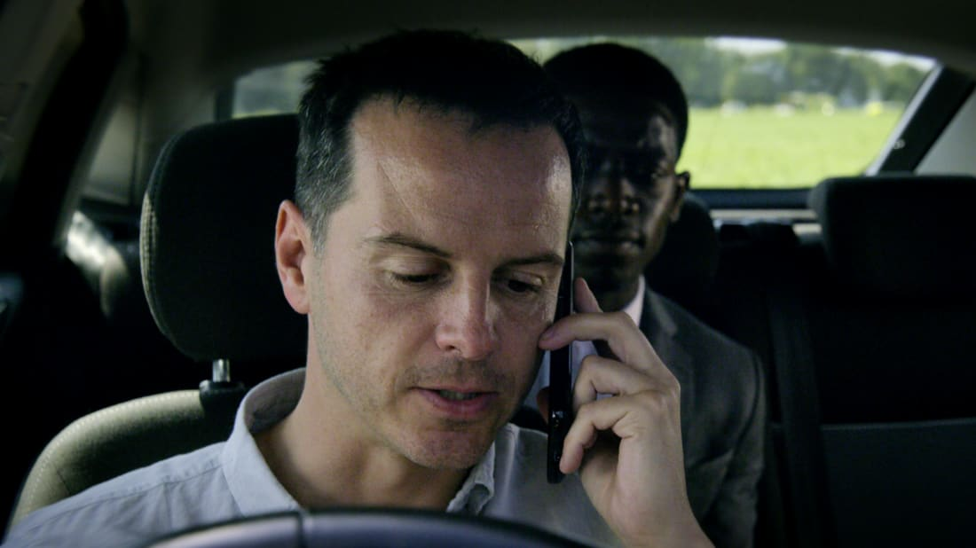 Andrew Scott stars in an episode of Netflix's Black Mirror.