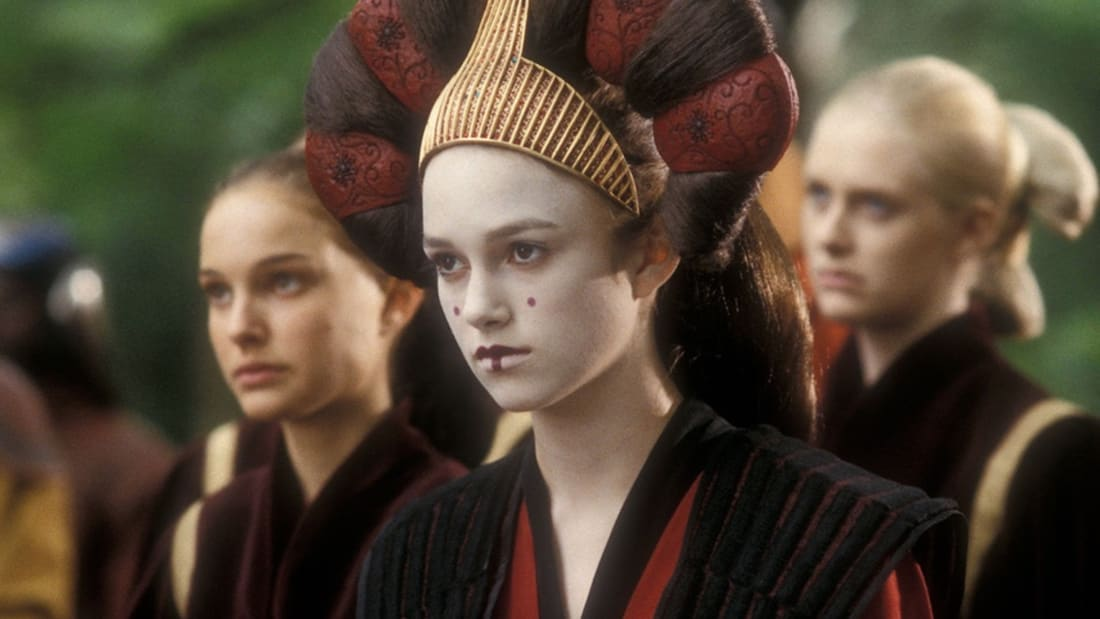 """Was I not Padmé?,"" Keira Knightley asks. It's a fair question."
