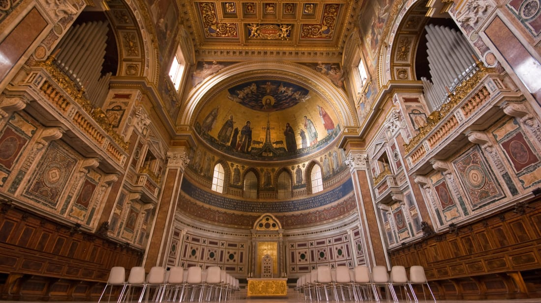 Basilica of St. John Lateran, where the Cadaver Synod was held