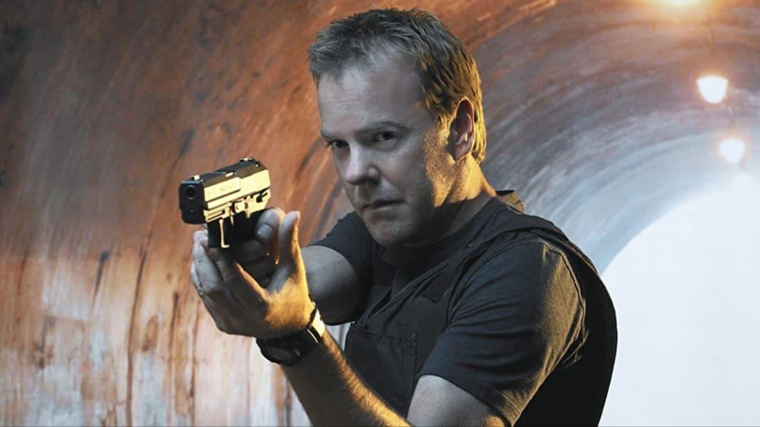 Kiefer Sutherland stars as Jack Bauer in 24.