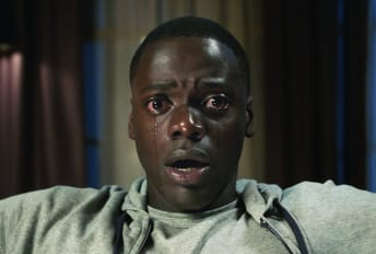 Daniel Kaluuya stars in Get Out (2017).