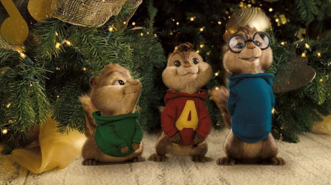 Alvin, Simon, and Theodore in Alvin and the Chipmunks (2007).