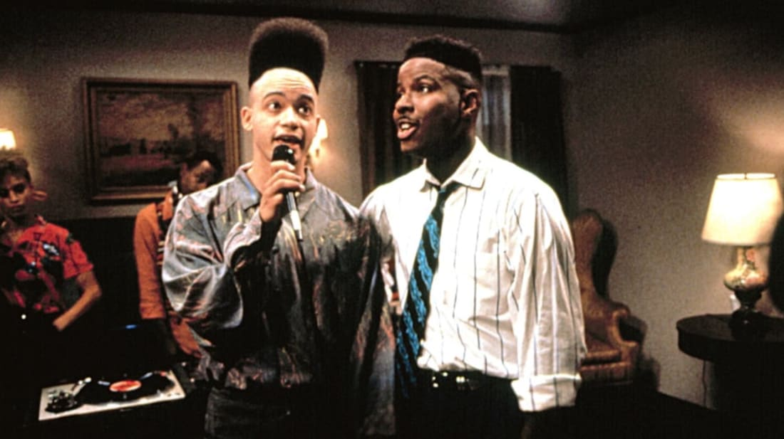 Christopher Reid and Christopher Martin in House Party (1990).