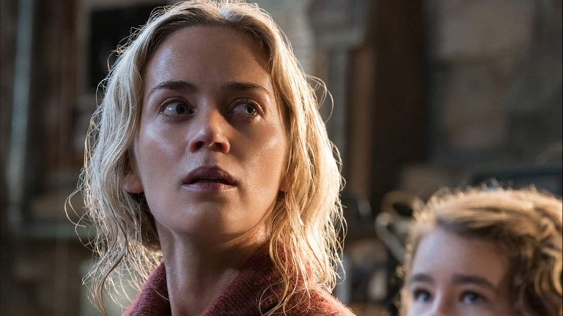 Emily Blunt and Millicent Simmonds in A Quiet Place (2018).