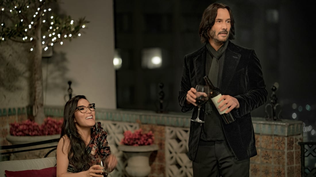 Ali Wong and Keanu Reeves star in Always Be My Maybe (2019).