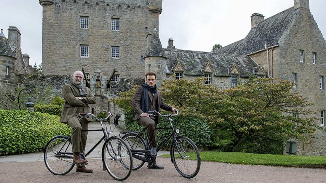 Graham McTavish and Sam Heughan in Men in Kilts: A Roadtrip with Sam and Graham