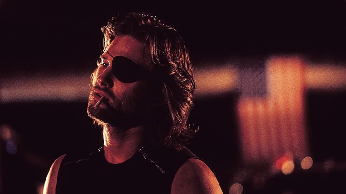 Kurt Russell stars in Escape from New York (1981).