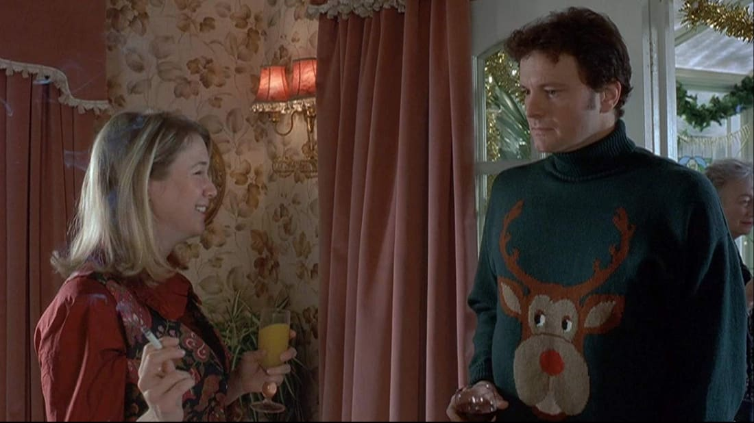 Renée Zellweger and Colin Firth in Bridget Jones's Diary (2001).