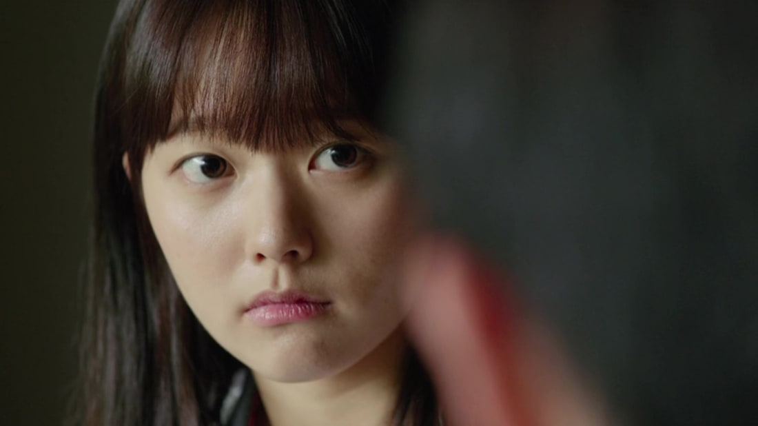Ji-so Jung stars in Bong Joon Ho's Parasite (2019).