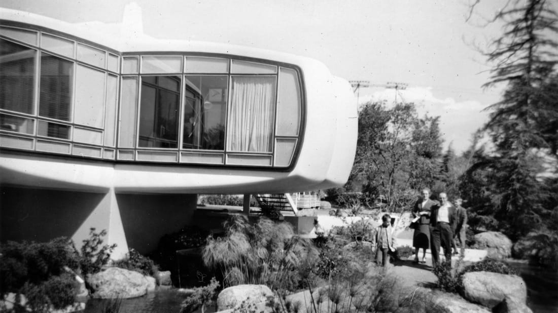 The Monsanto House of the Future was an attraction at Disneyland's Tomorrowland 1957 to 1967.
