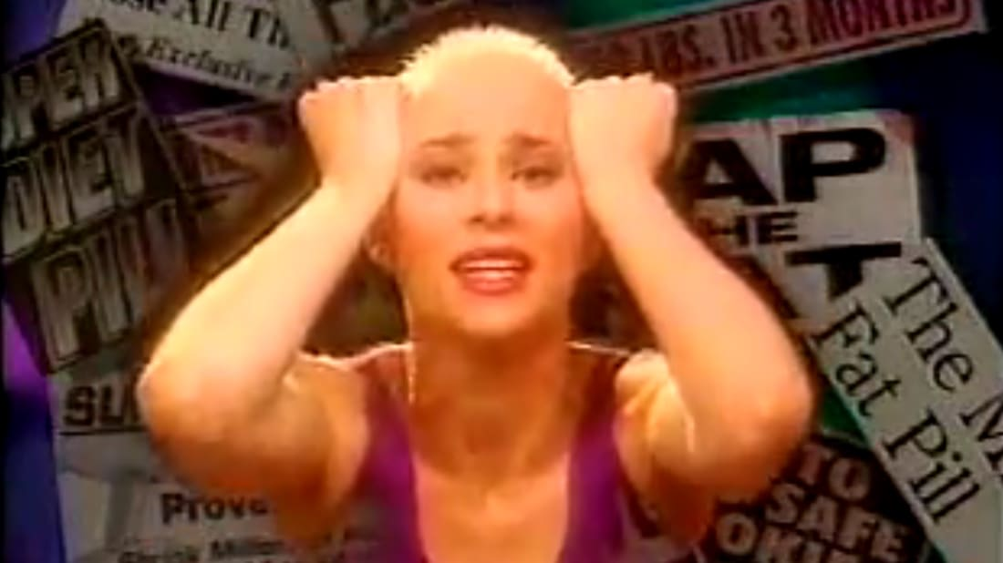 When Susan Powter Tried to Stop the Diet Insanity | Mental Floss