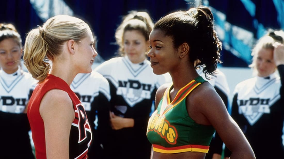 Kirsten Dunst and Gabrielle Union in Bring It On (2000).