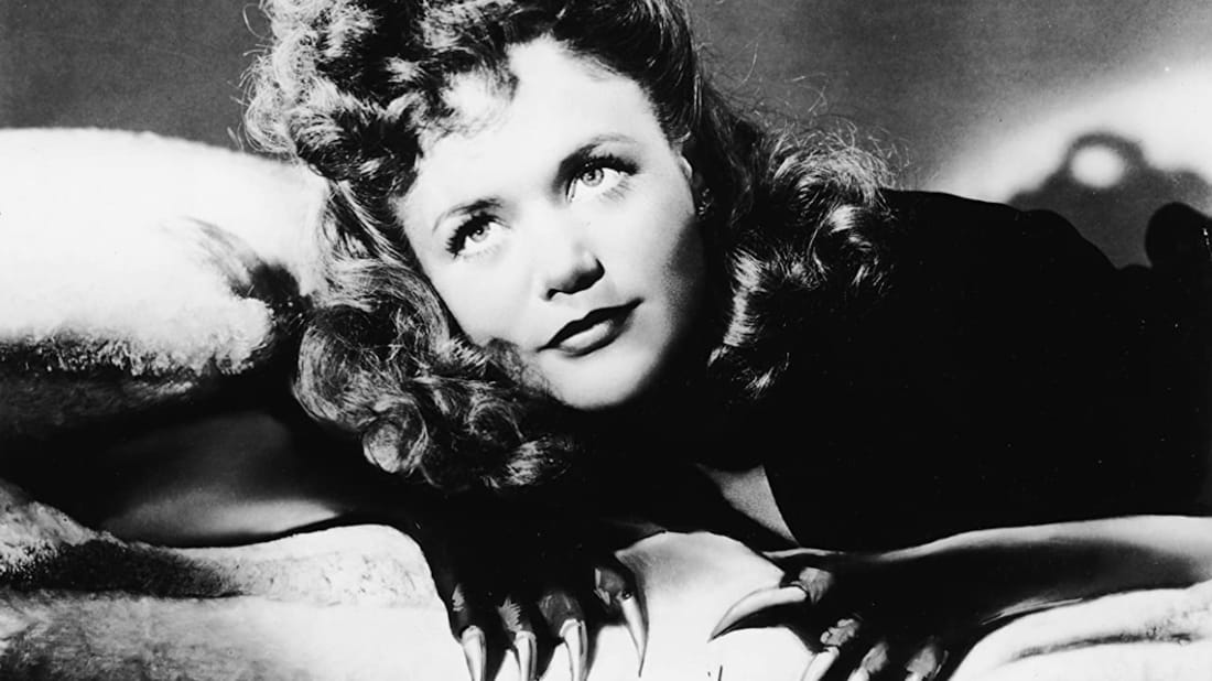Simone Simon stars in Cat People (1942).