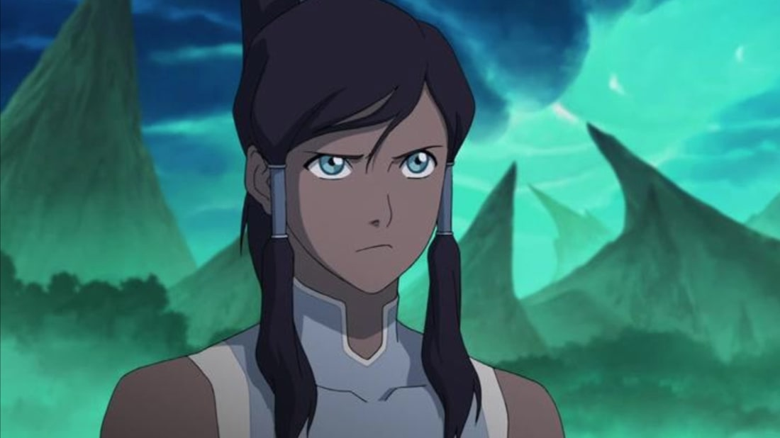 Janet Varney in The Legend of Korra.
