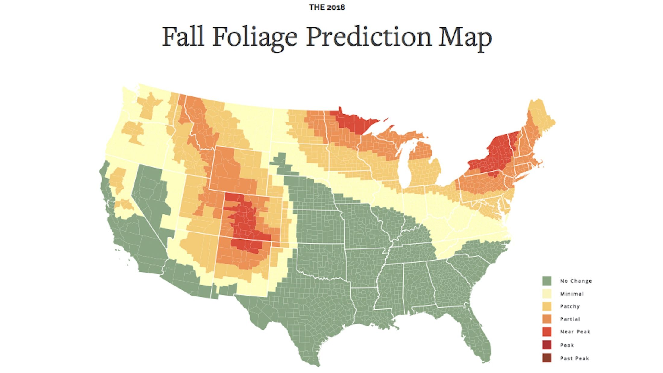 Start Planning for Fall Now With This Interactive Foliage ...