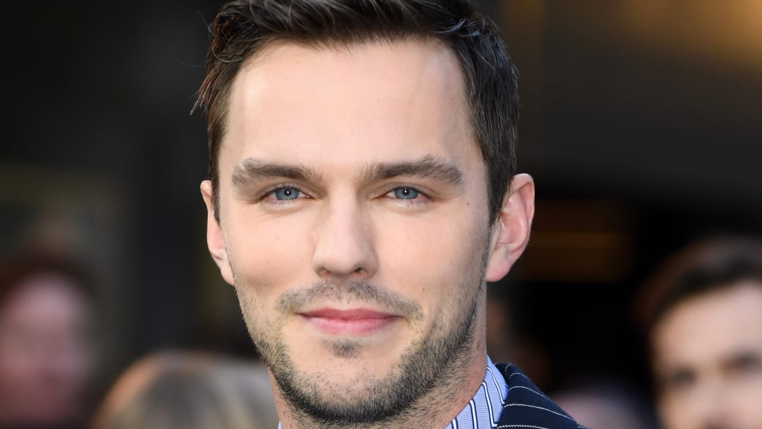 Nicholas Hoult attends the premiere of Tolkien at The Curzon Mayfair in London