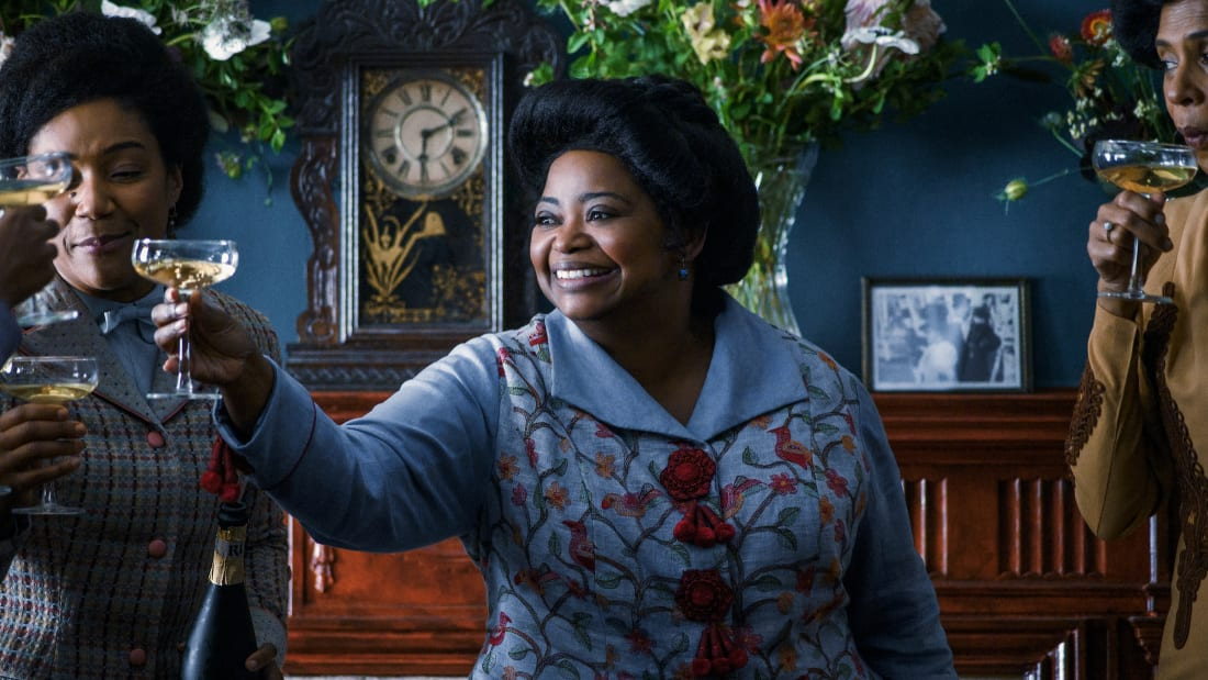 Tiffany Haddish and Octavia Spencer in Self Made: Inspired by the Life of Madam C.J. Walker.