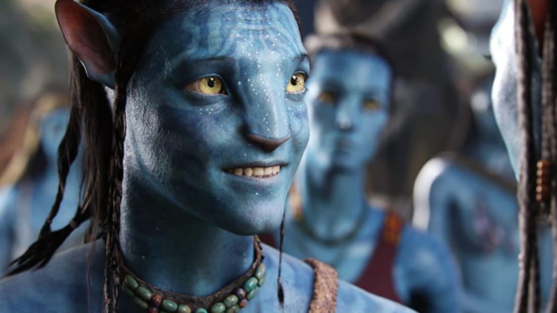 Sam Worthington in Avatar (2009).