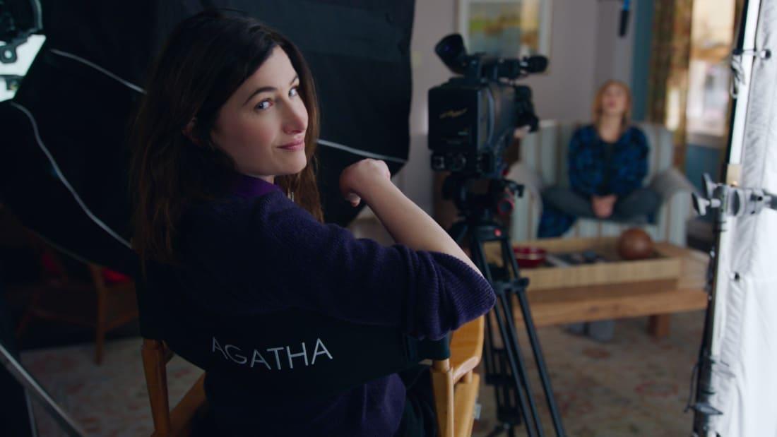 Kathryn Hahn as Agatha Harkness in WandaVision (2021).