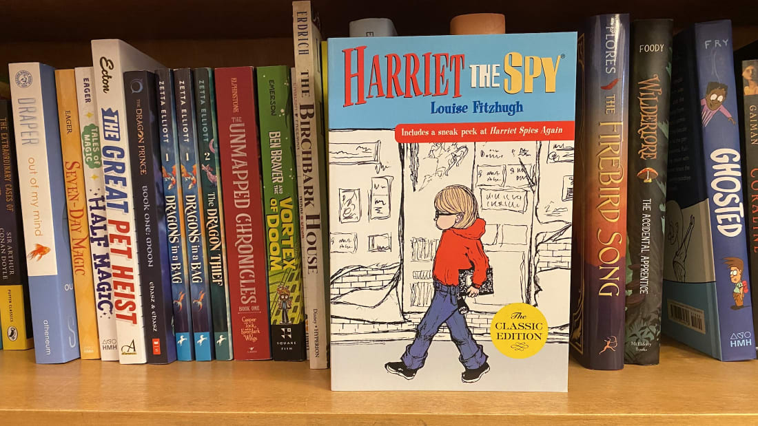"""You might be surprised to find out that the author of Harriet the Spy called her protagonist """"a nasty little girl who keeps a notebook on all of her friends."""""""