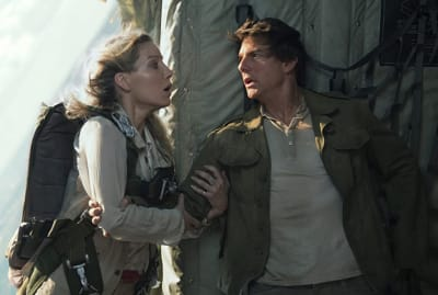 Annabelle Wallis and Tom Cruise brought doom to the box office with The Mummy (2017).