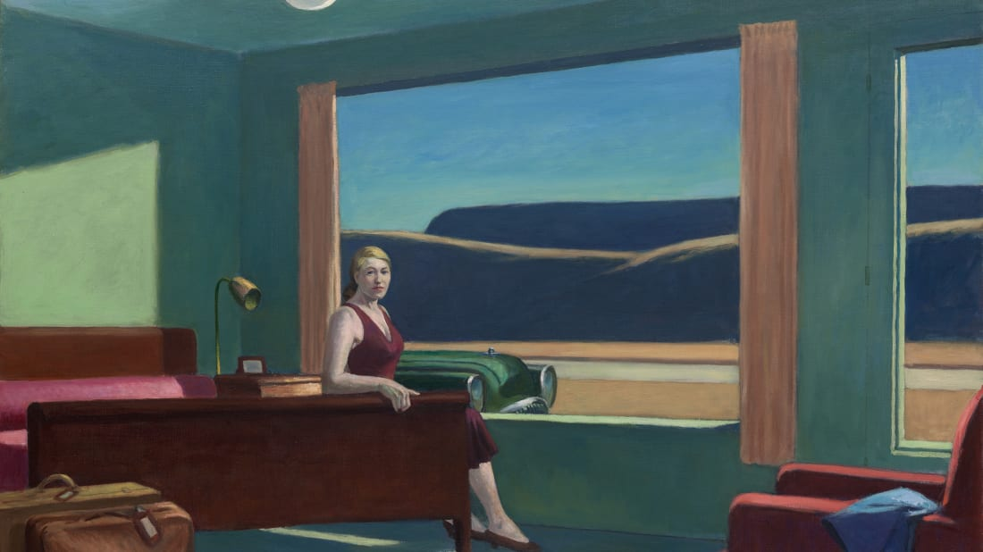 Edward Hopper's Western Motel Is Being Turned Into a Hotel Room at the Virginia Museum of Fine Arts