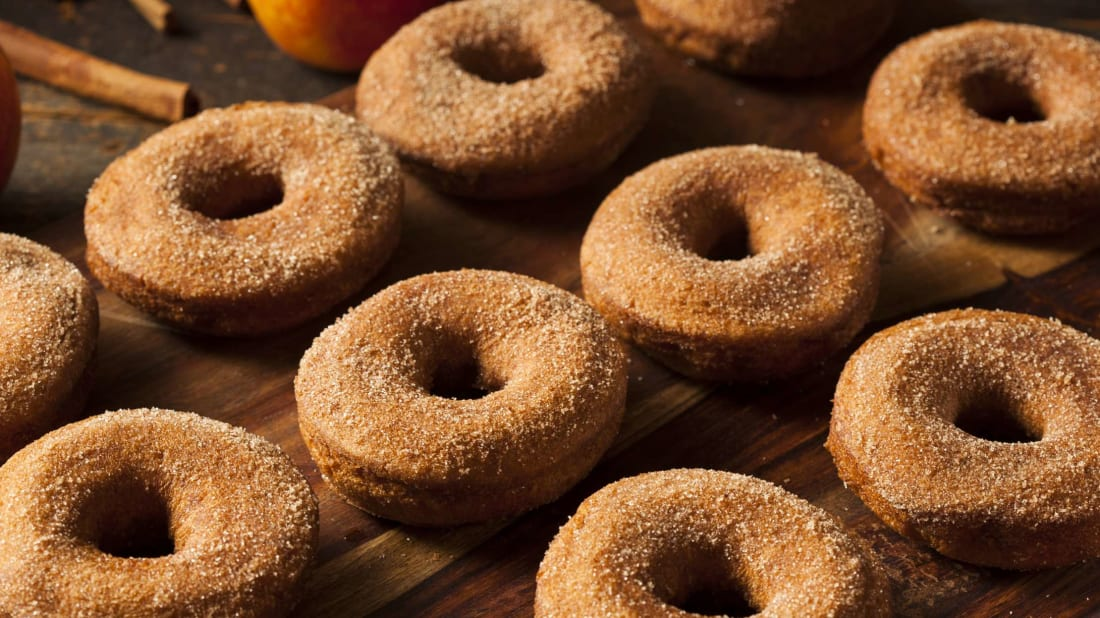 Apple cider doughnuts have a surprisingly modern history.