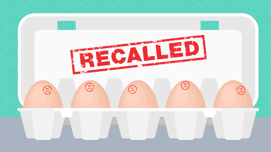 Illustration composite by Mental Floss. Egg carton: iStock