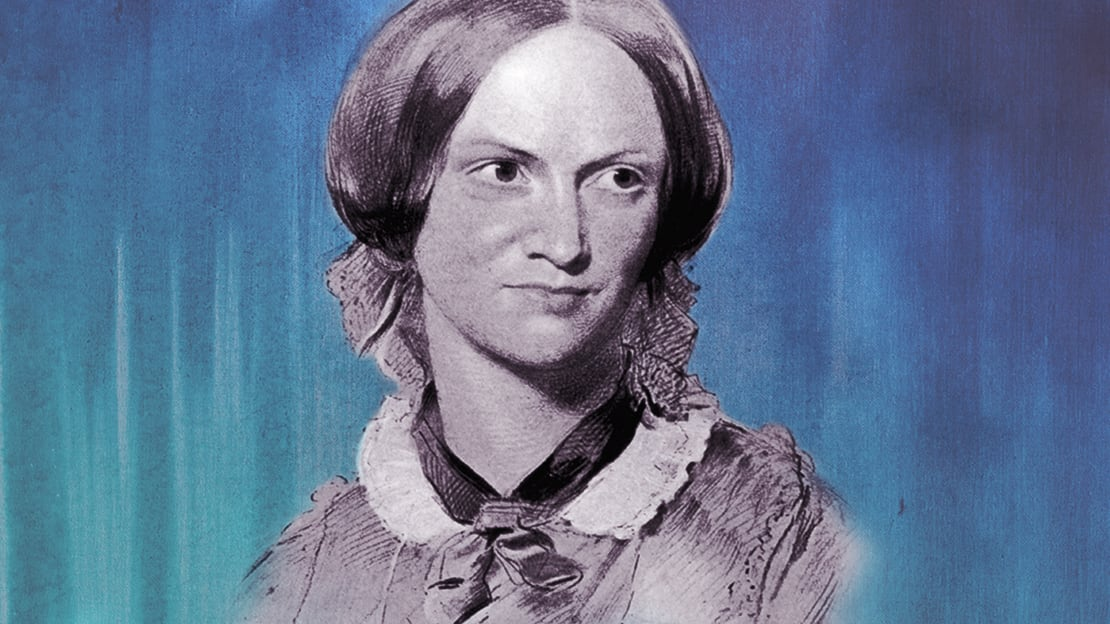 Photo illustration by Mental Floss. Bronte: Hulton Archive, Getty Images. Background: iStock