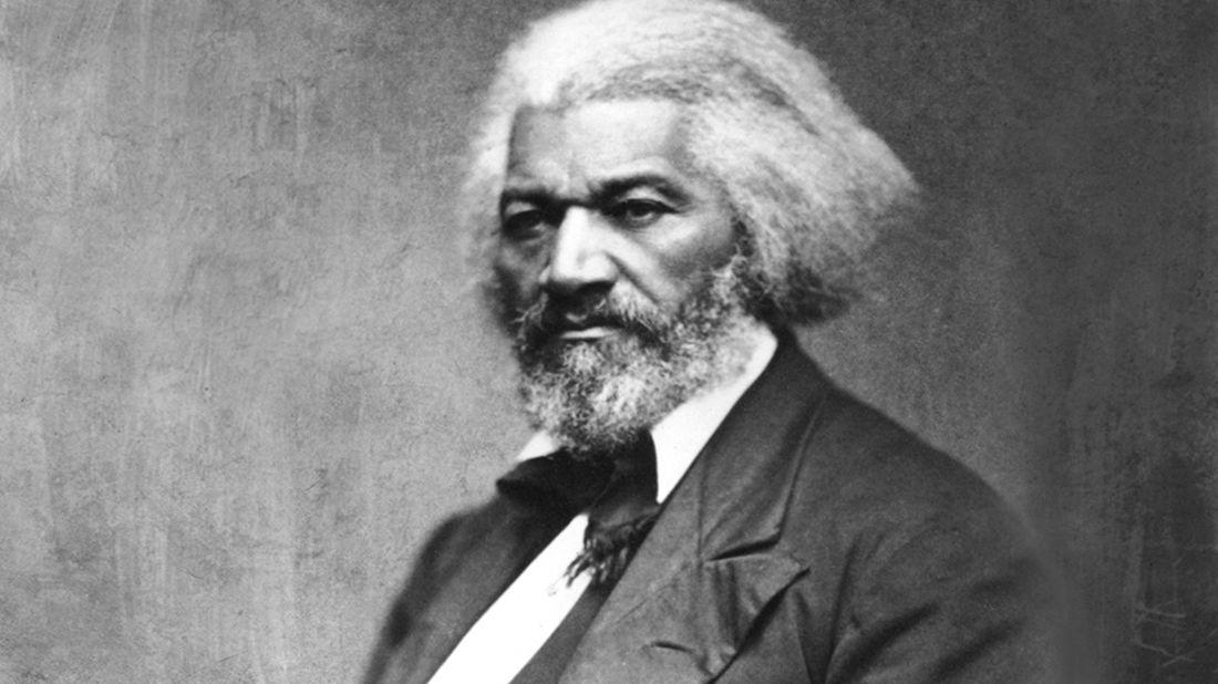 Photo Illustration: Mental Floss. Douglass: Glasshouse Images, Alamy. Backgrounds: iStock