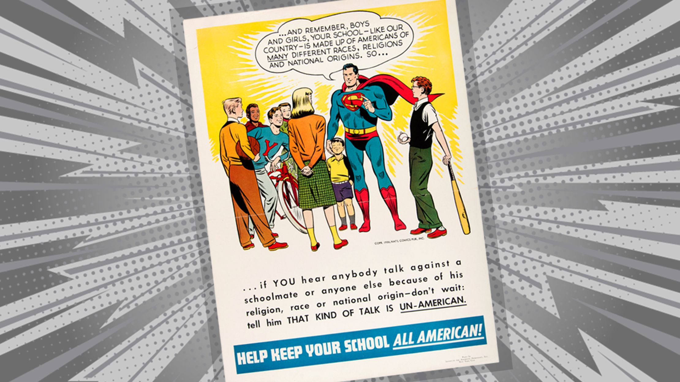 When Superman Fought Xenophobia in a 1949 Comic