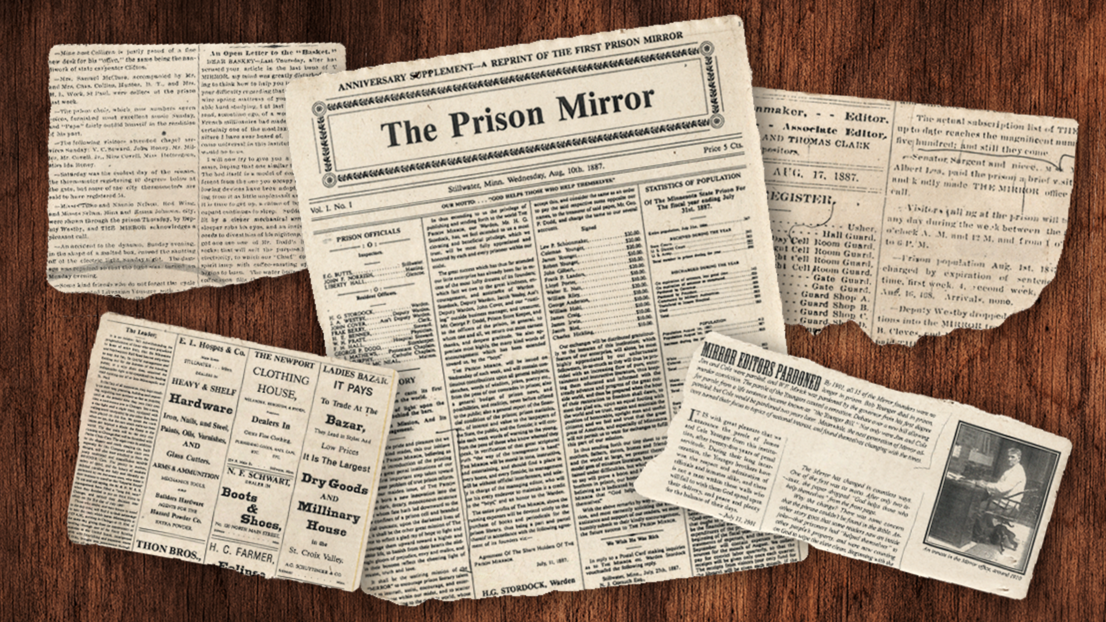 A Colorful History of <em>The Prison Mirror</em>, America's Oldest Continuously Operated Prison Newspaper