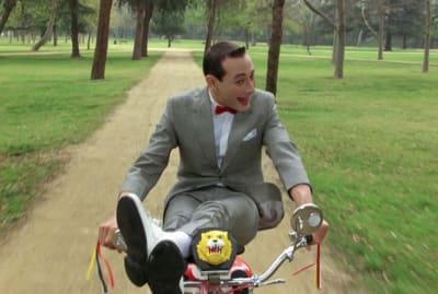 Paul Reubens in Pee-wee's Big Adventure (1985).