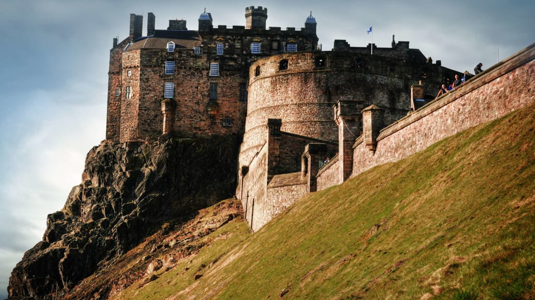 Edinburgh Castle is an iconic part of the city's skyline.