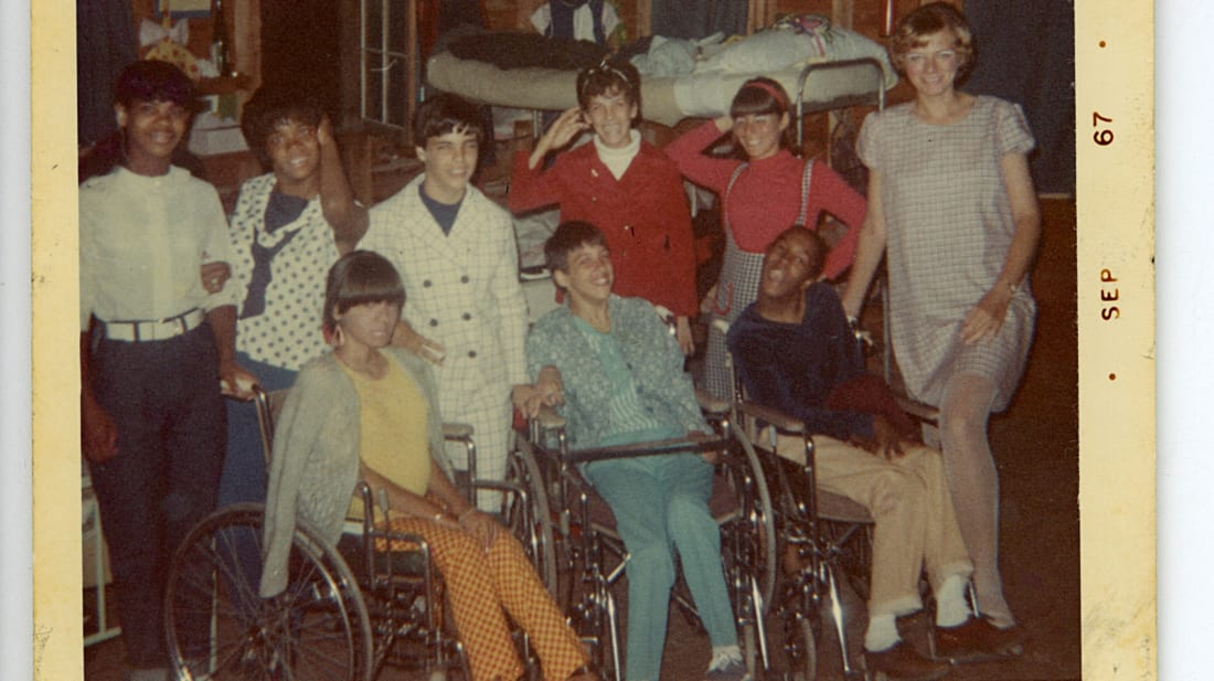 A scene from Crip Camp: A Disability Revolution (2020).