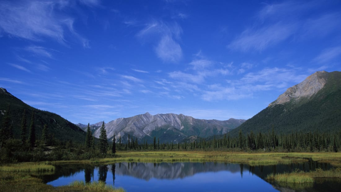 Gates of the Arctic National Park in Alaska.