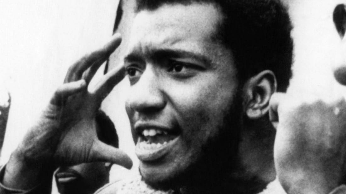 Black Panther Fred Hampton, circa 1968.