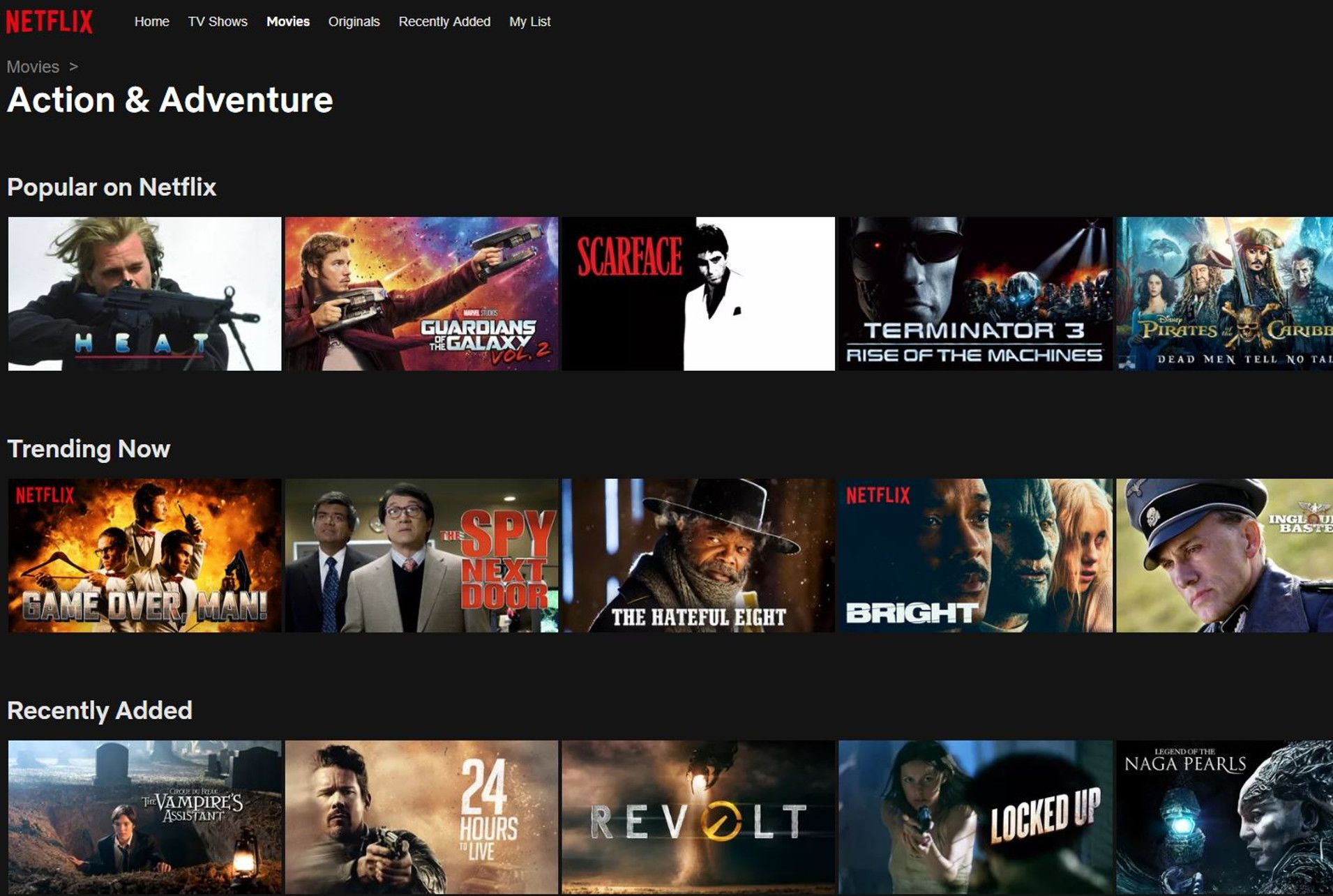 There's a Simple Trick to Sort Movies and TV Shows by Year on Netflix |  Mental Floss