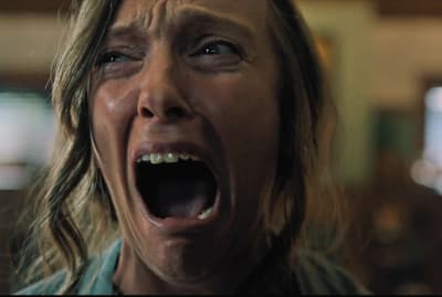 Toni Collette stars in Hereditary (2018).