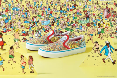 Vans has a new line of Where's Waldo? sneakers.