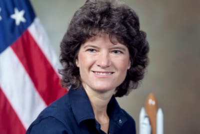 Sally Ride in 1984.