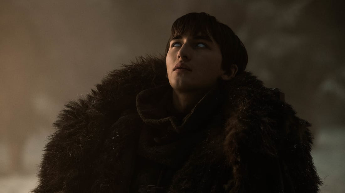 Isaac Hempstead Wright stars as Bran Stark in Game of Thrones